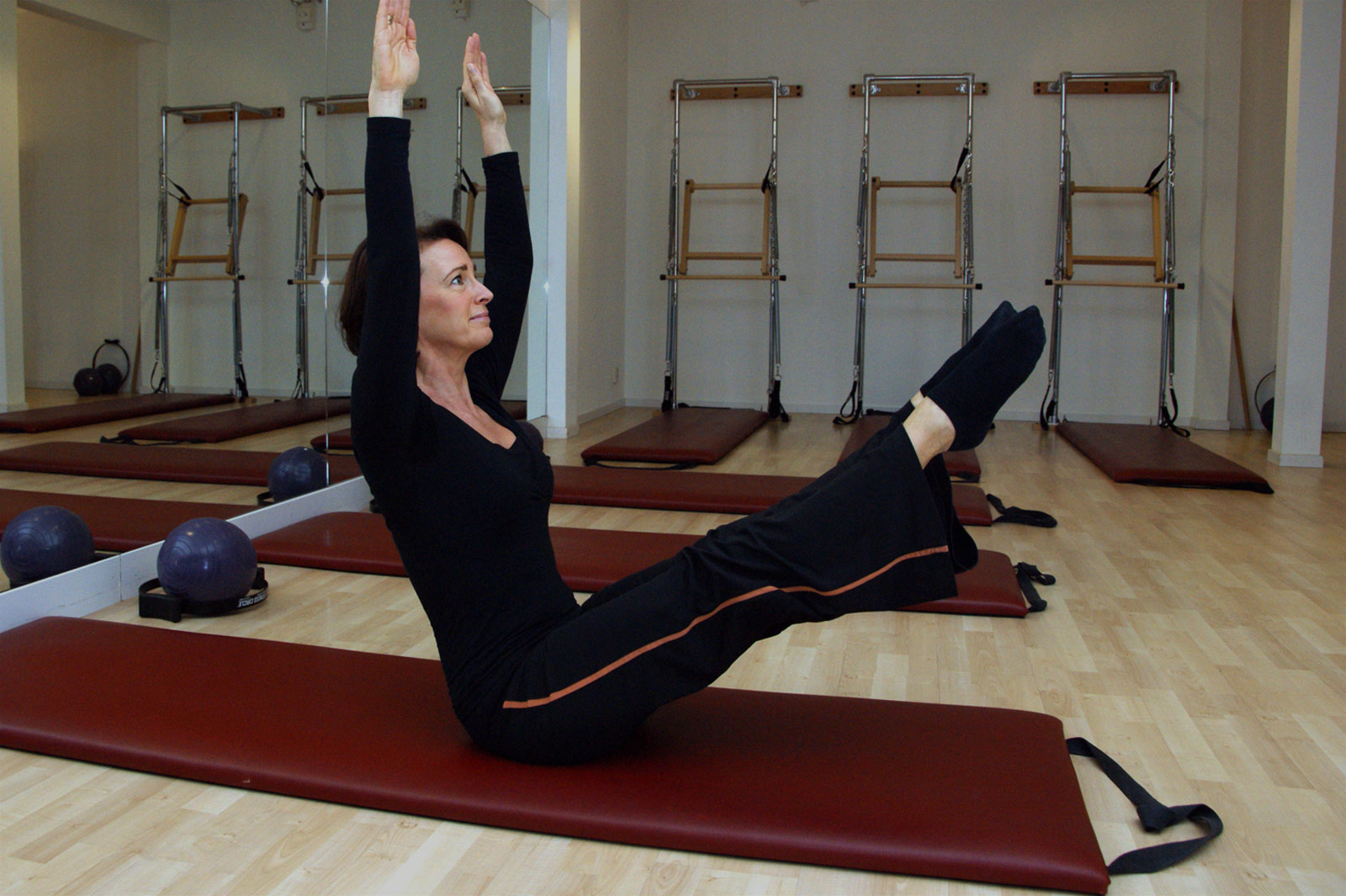Carine Nabuurs in de Pilates Studio - Palma Personal Training