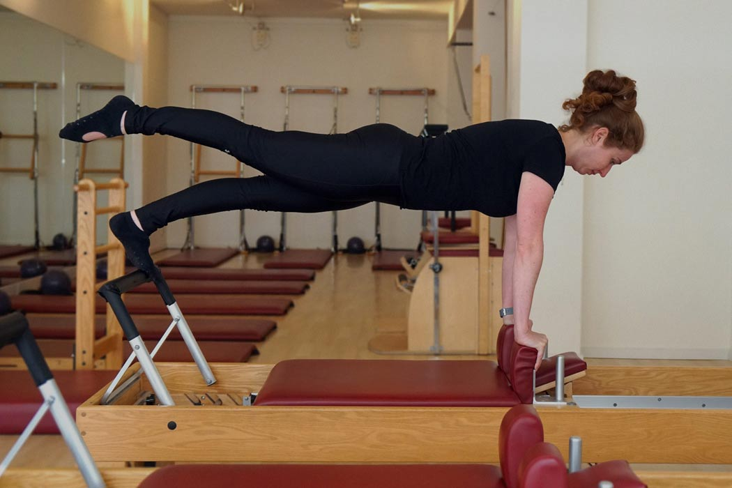 Paula London in de Pilates Studio - Palma Personal Training